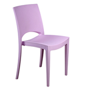 Lilac Stellar Cafe Chair