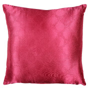 Magenta (Embossed Patterned) Scatter Cushion