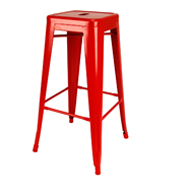 Red Xavier Bar Stool