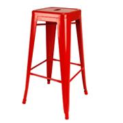 Red Xavier Bar Stool