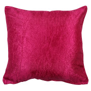 Magenta (Wrinkled Metallic) Scatter Cushion