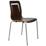 Mahogany Ebano Cafe Chair
