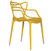 Mustard Twist Cafe Chair