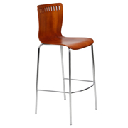 Wooden Amarula Bar Stool