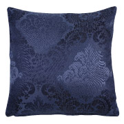Navy (Floral Pattern) Scatter Cushion