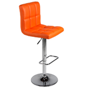 Orange 404 Bar Stool