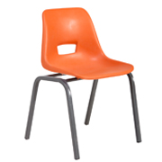Orange Kids Classroom Chair
