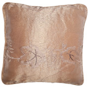 Peach (Floral Patterned) Scatter Cushion