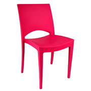 Pink Stellar Cafe Chair