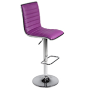Purple 404 Bar Stool