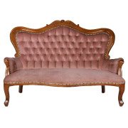 Queen Anne Double Seater Couch