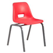 Red Kids Classroom Chair