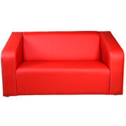 Red Vista Double Seater Couch