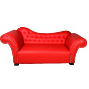 Red Mont Pierre Double Seater Couch