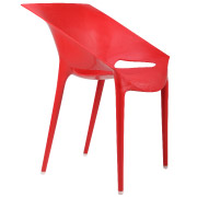 Red Sunset Cafe Chair
