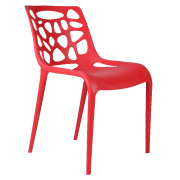 Red Tortoise Cafe Chair