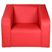 Red Vista Single Seater Couch