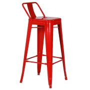 Red Xavier Halfback Bar Stool