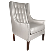 Silver Winston Single Seater Couch