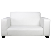 White Euro Double Seater Couch