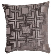 Steel (Geometric Patterned) Scatter Cushion