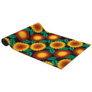 Sunflower Patterned Carpet Runner