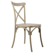 Taupe Crossback Cafe Chair