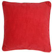 Textured Red Scatter Cushion