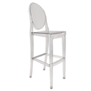 Transparent Victoria Bar Stool