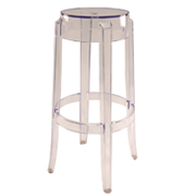 Transparent Fox Bar Stool