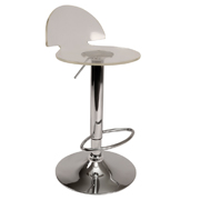 Transparent Saphire Bar Stool