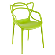 Green Twist Cafe Chair