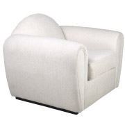 White Comfy Single Seater Couch