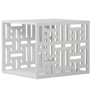 White Decorative Side Table