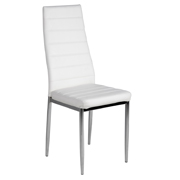 White Dina Dining Chair