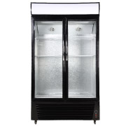 White Double Door Fridge
