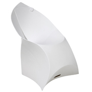 White Flux Cafe Chair