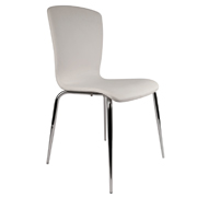 White Komora Cafe Chair