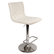 White 404 Bar Stool