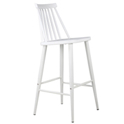 White Lulu Bar Stool