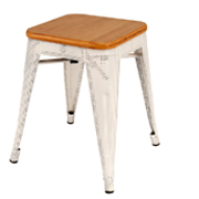 White Xavier Cafe Stool