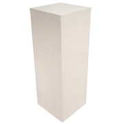 White Wooden Plinth