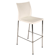 White Regis Bar Stool