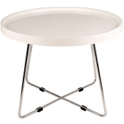 White Round Martini Coffee Table