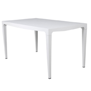 White Shaf Cafe Table