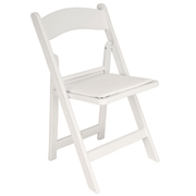 White Wimbledon Cafe Chair