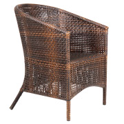 Wicker Bamboo Outdoor Chair