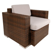 Wicker Single Seater Outdoor Couch