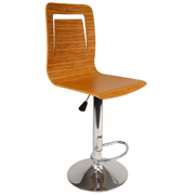 Wooden Ebano Bar Stool