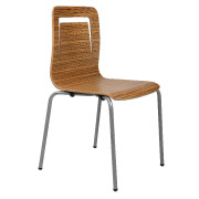 Wooden Ebano Cafe Chair